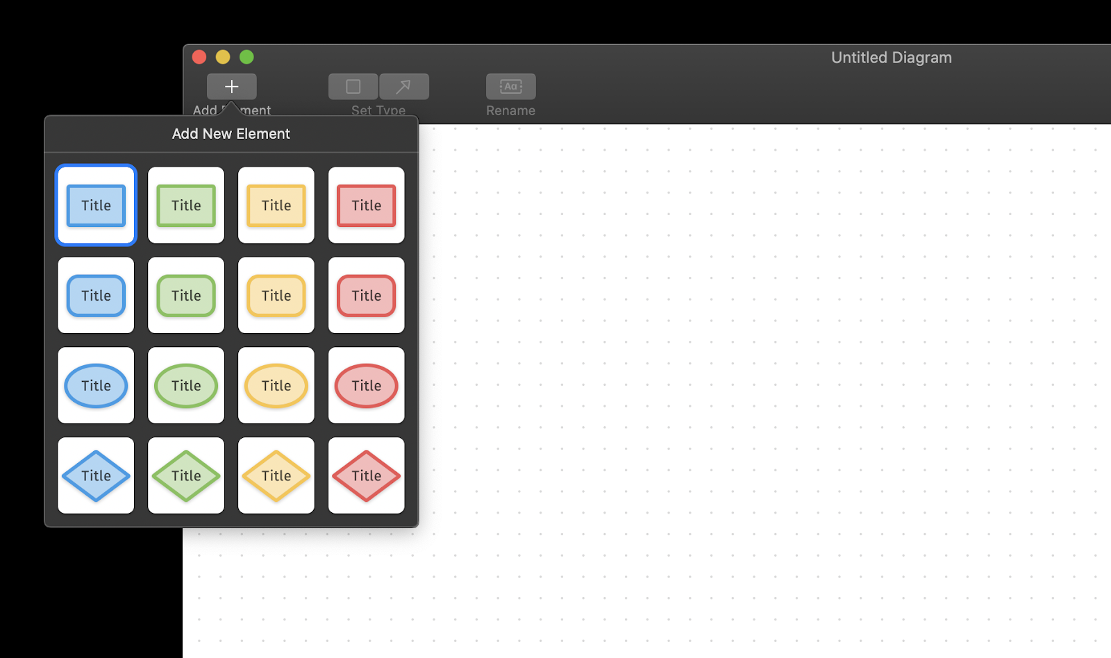 Diagrams app