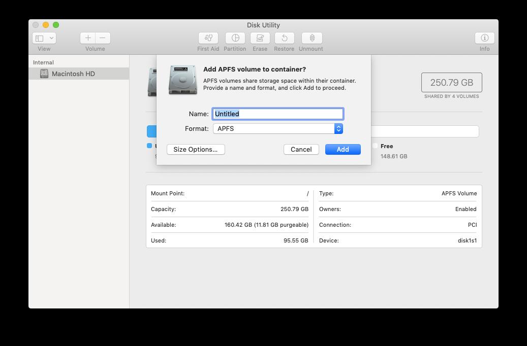 disk utility mac backup