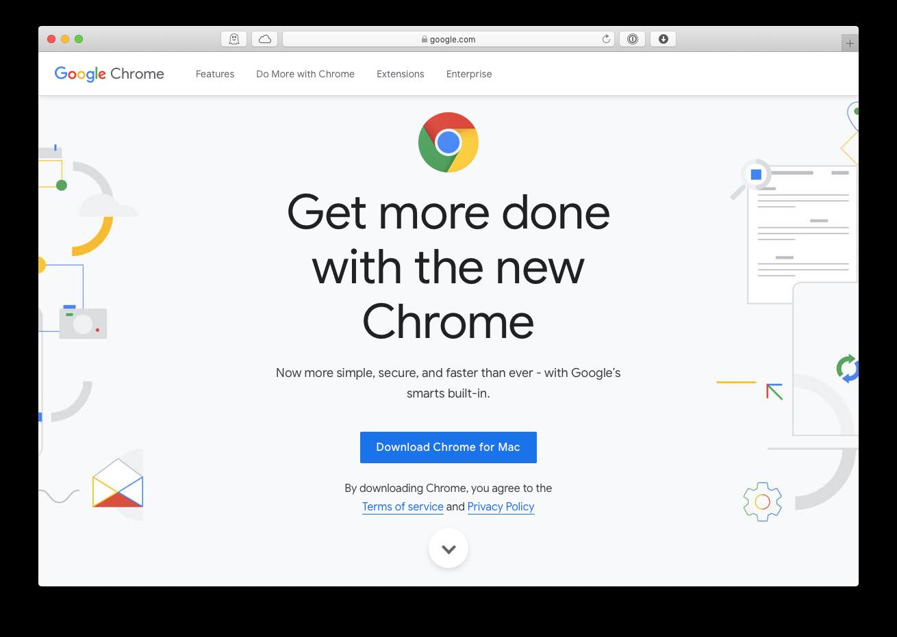 download chrome mac browser