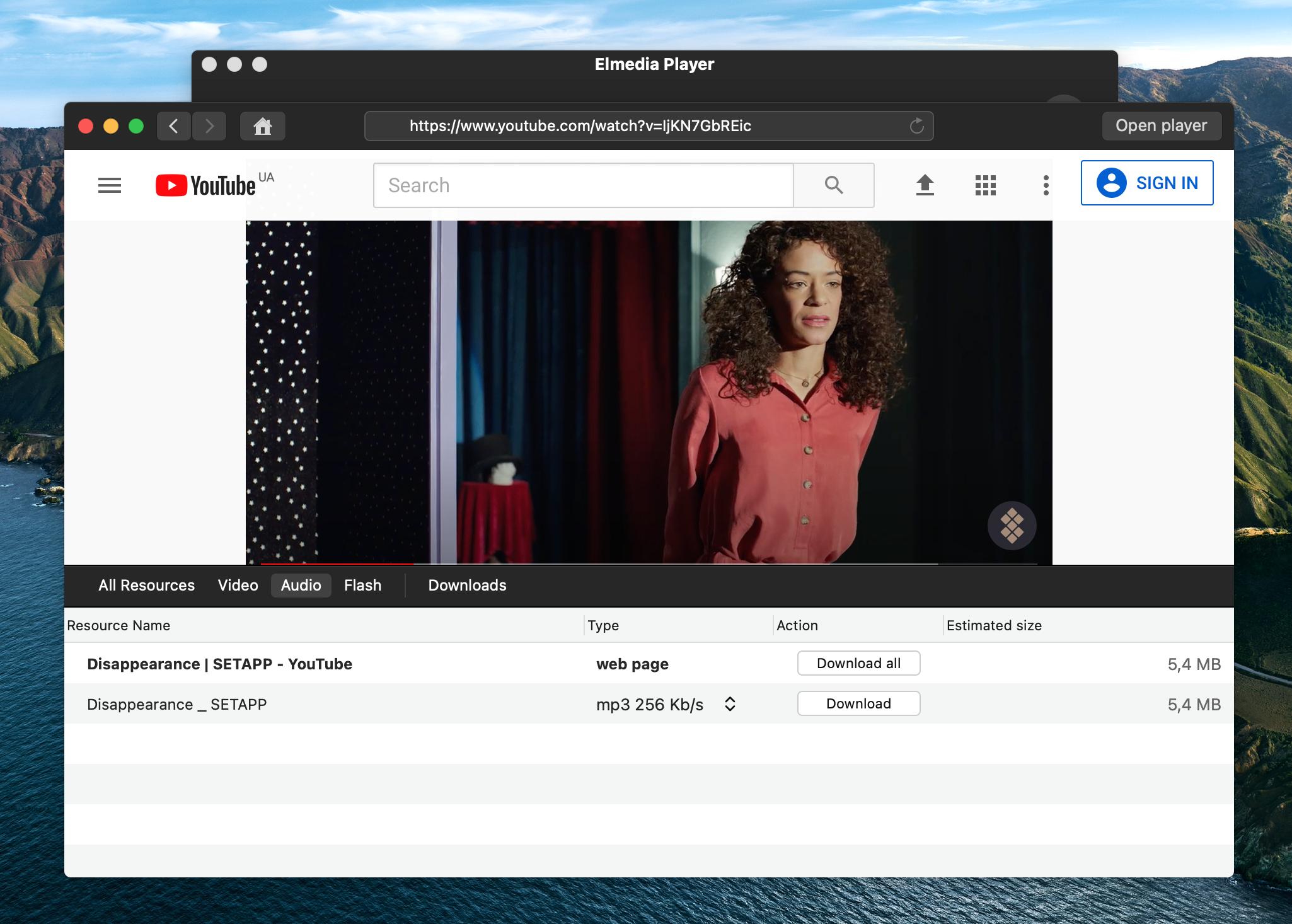 download video Elmedia Player