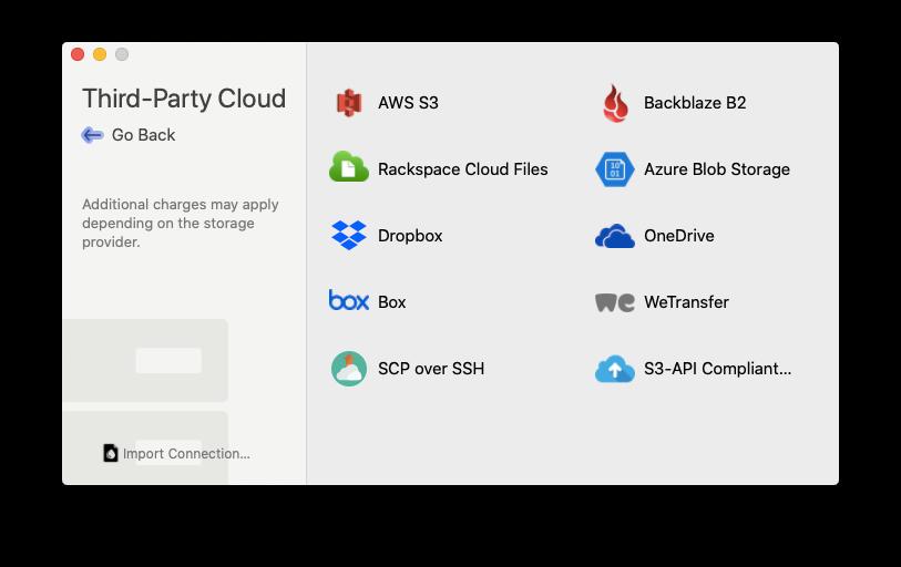 dropshare cloud files transfer mac