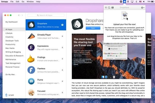 Dropshare app