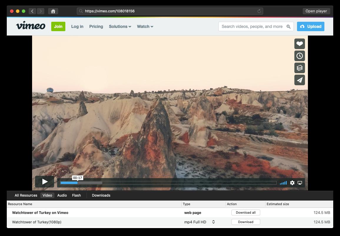 Elmedia Player Mac streaming downloading video