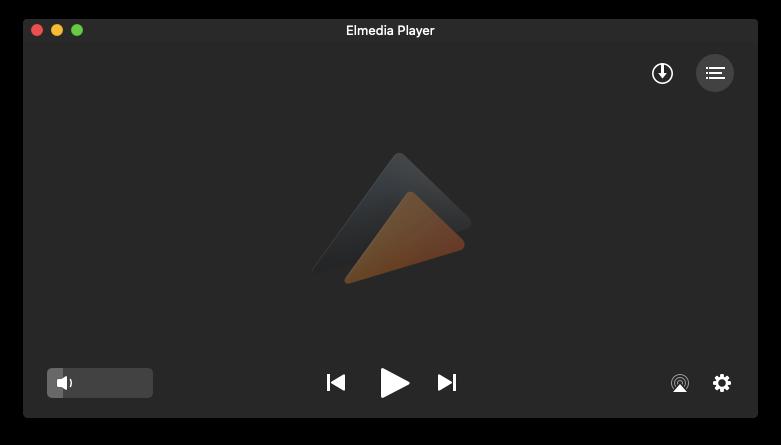 Elmedia Player video audio M4A MP4 Mac