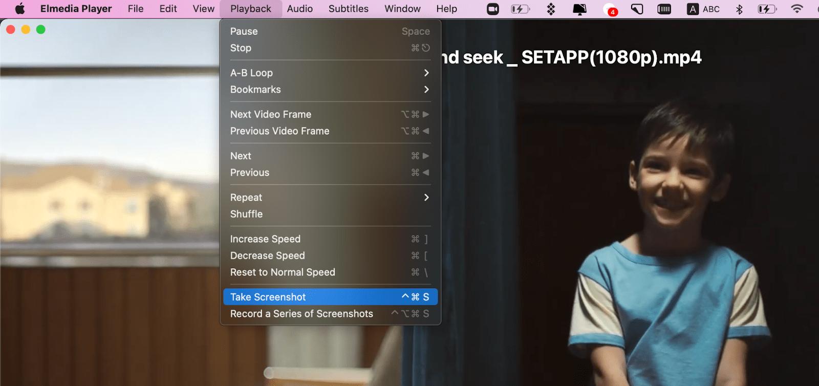 elmedia screenshot mac