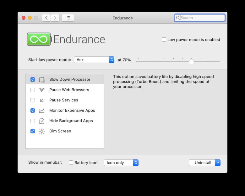 Endurance battery extend MacBook