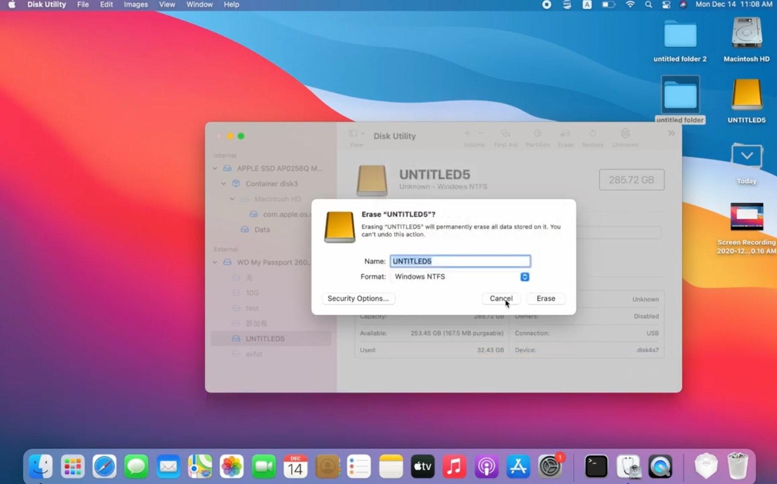 manage NTFS drives on Mac