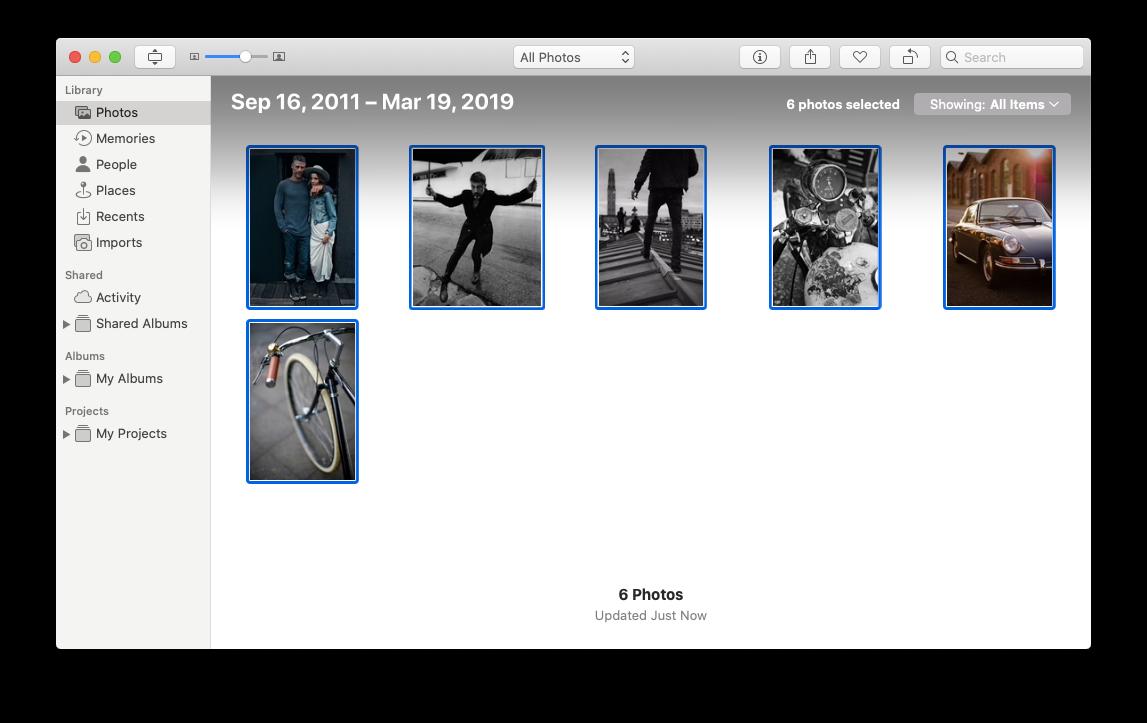 export photos Mac drive iCloud