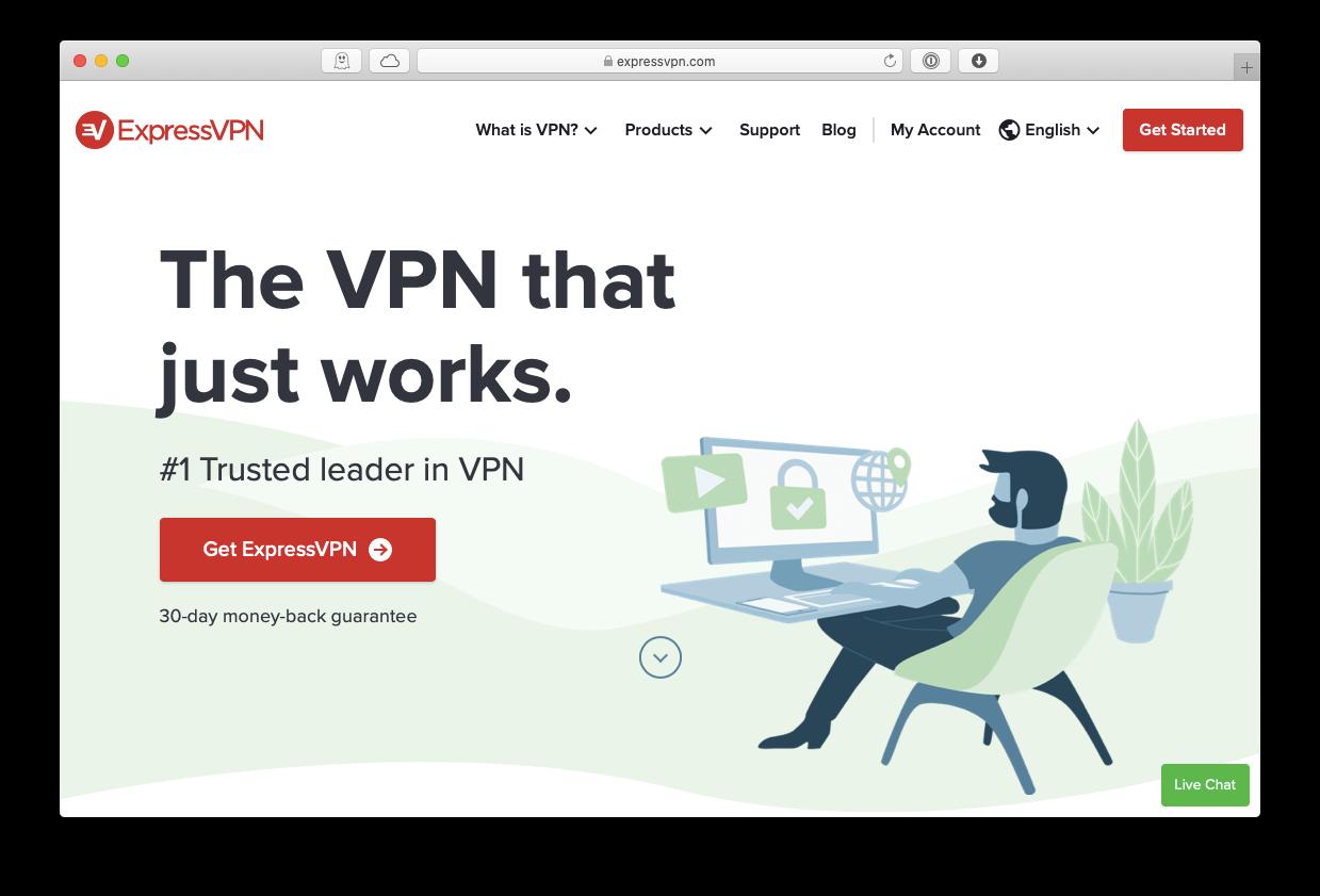 ExpressVPN app client Mac
