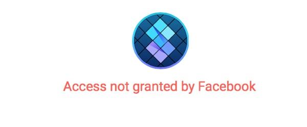 facebook login issue