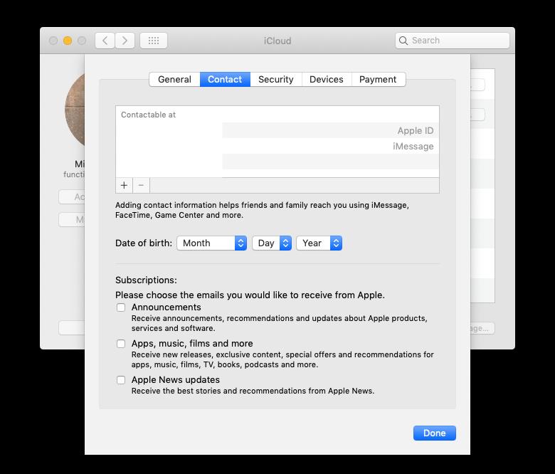 facetime add emails