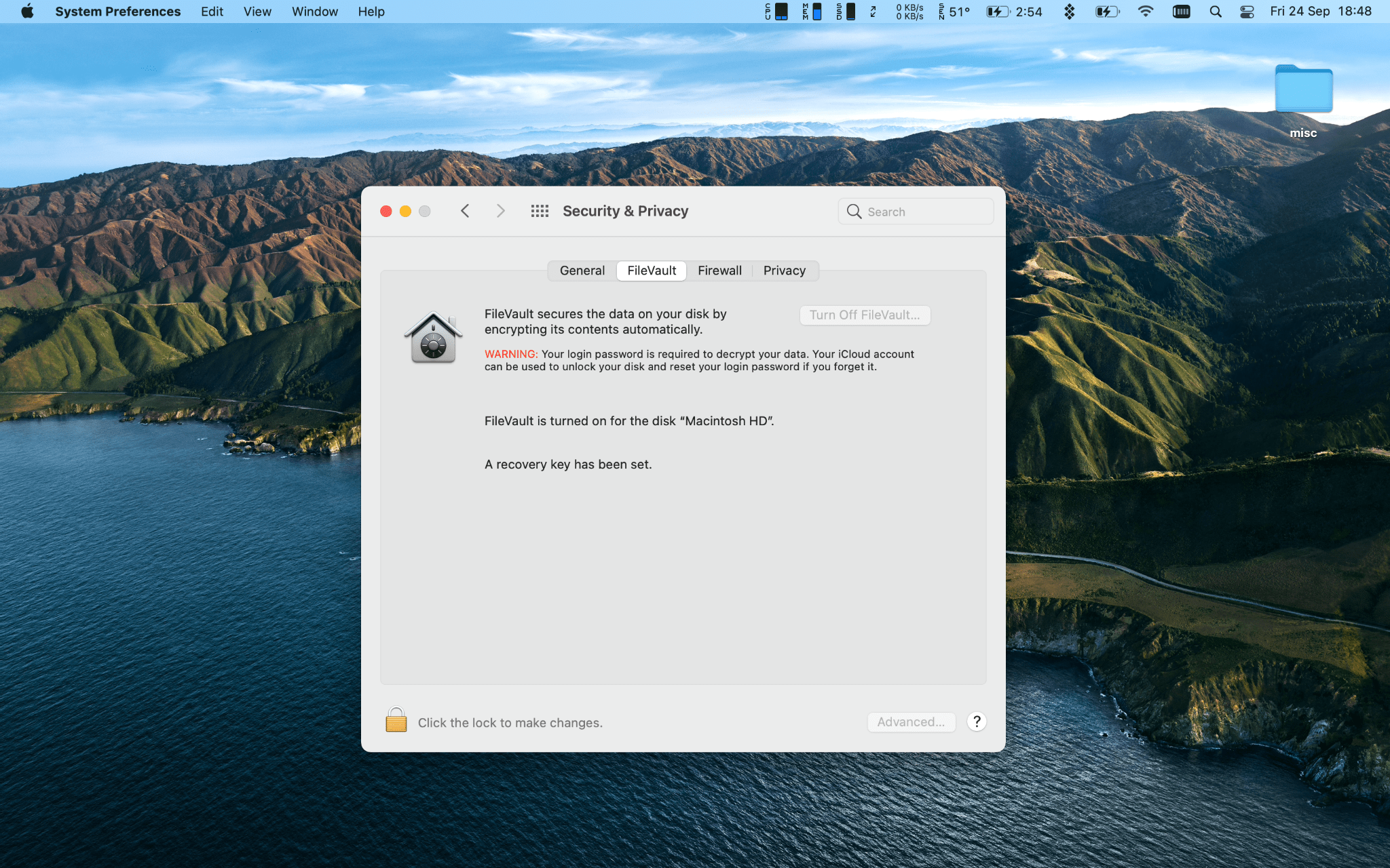 What is FileVault