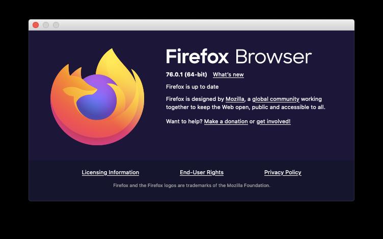 Firefox update automatic Mac