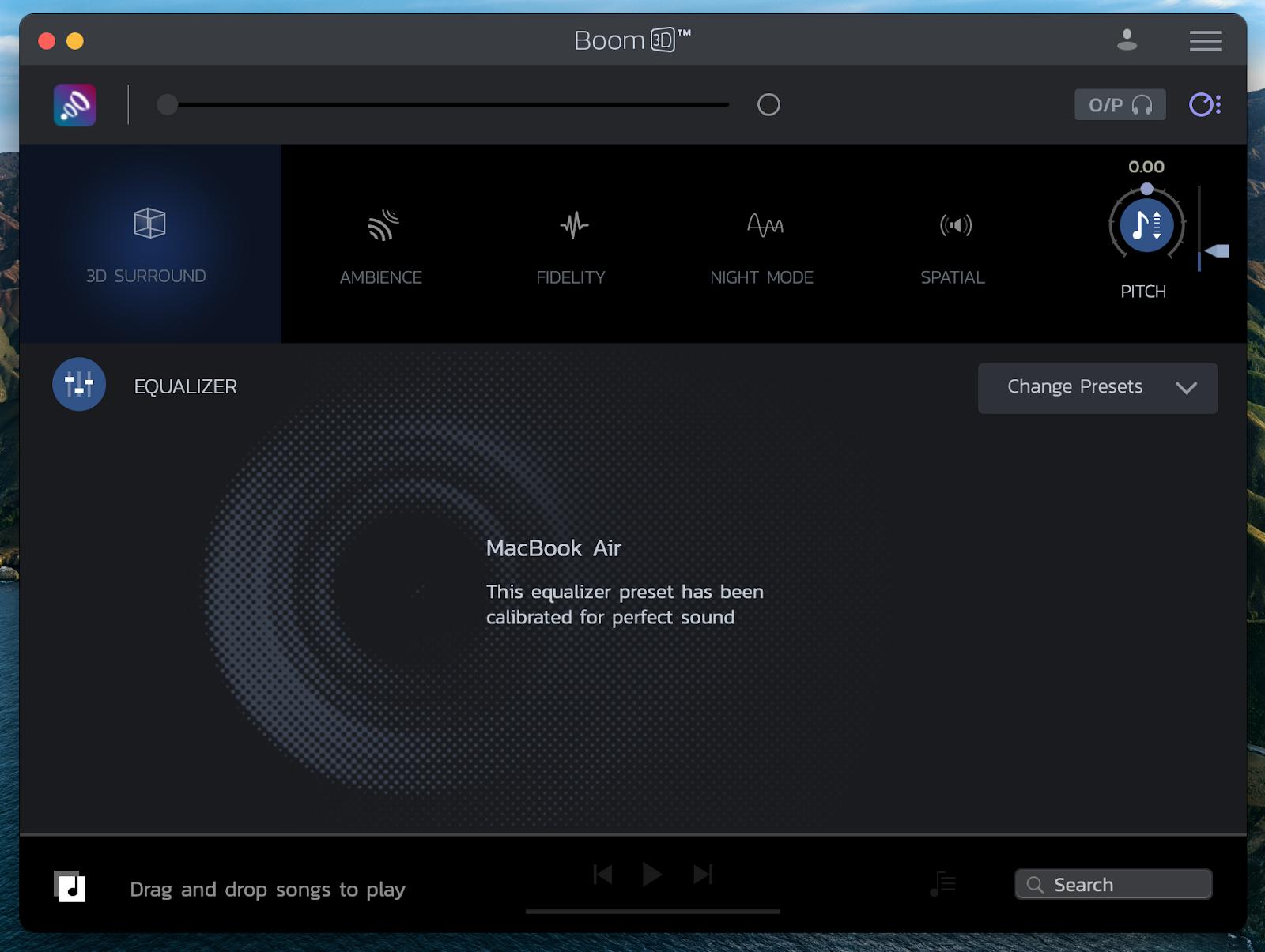 fix sound Boom3D