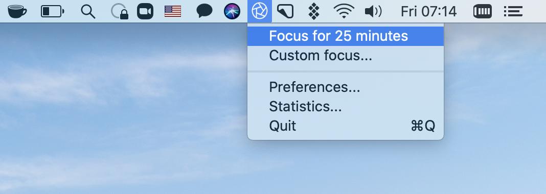Start Focus