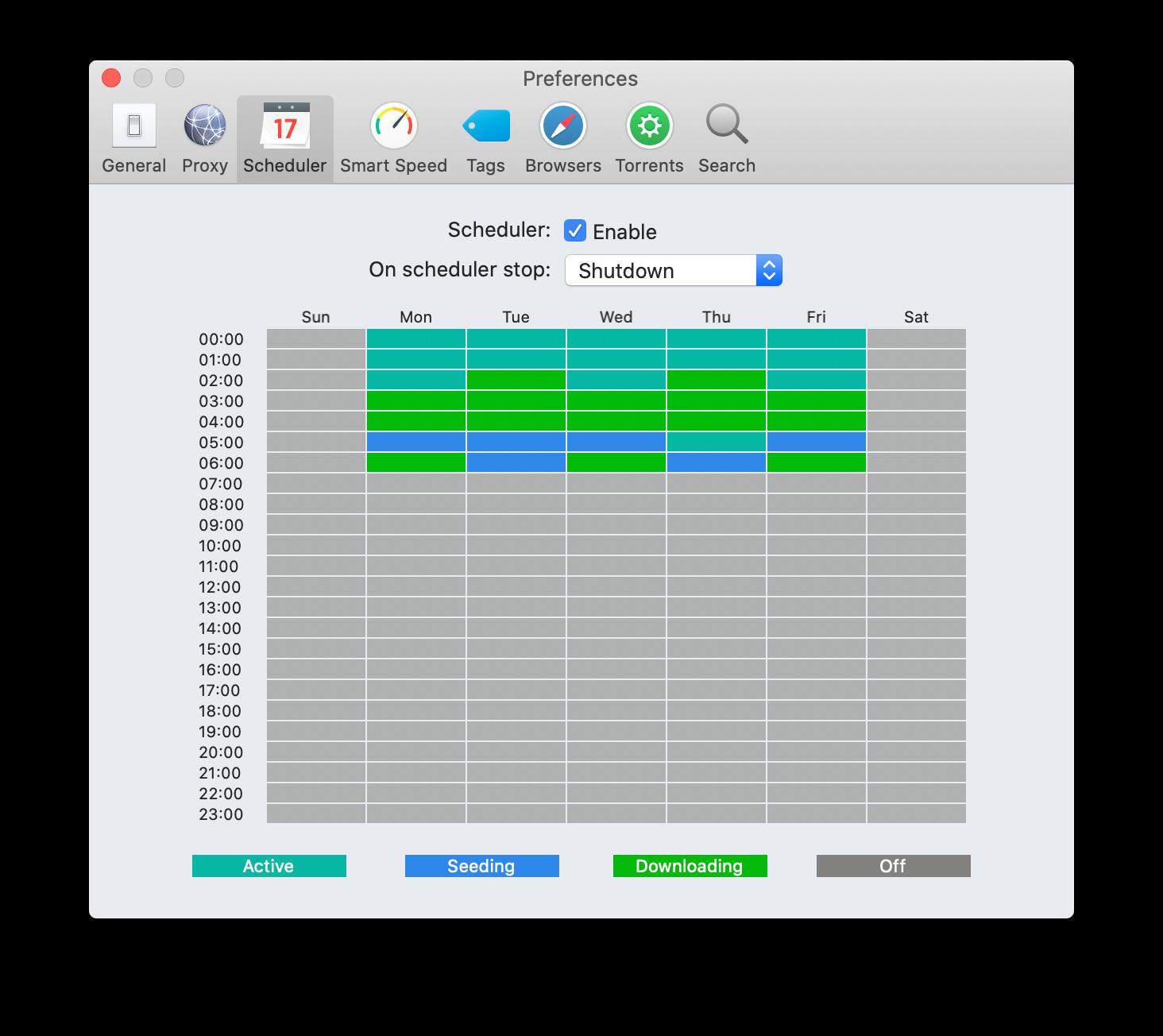 Folx Download-Scheduler