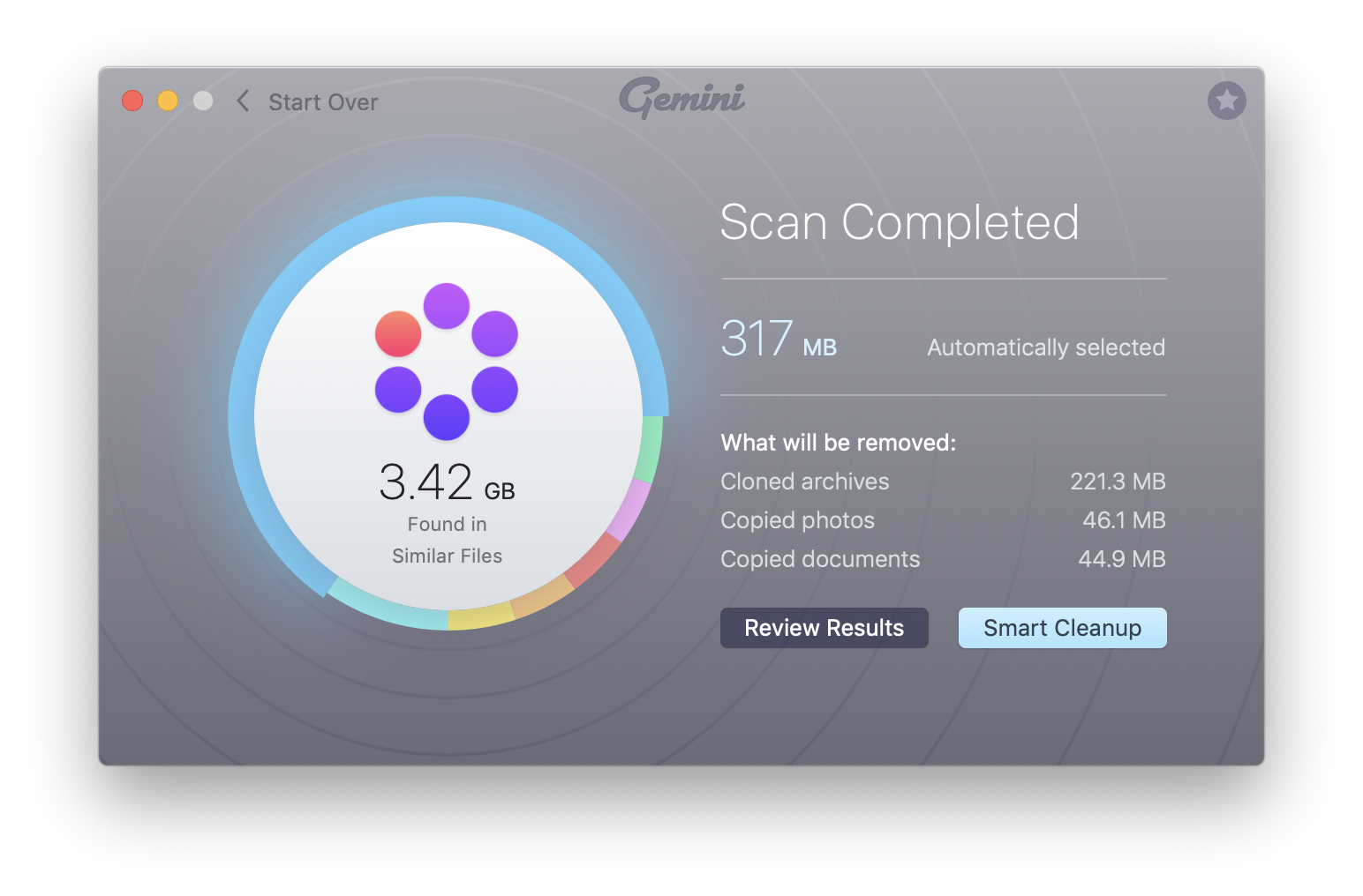Scan macOS for duplicates