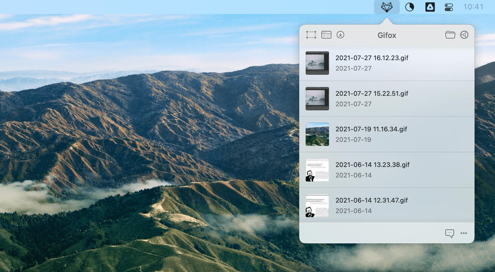 gifox create gif mac