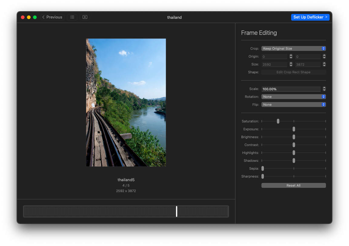 combine your photos to create time lapse videos