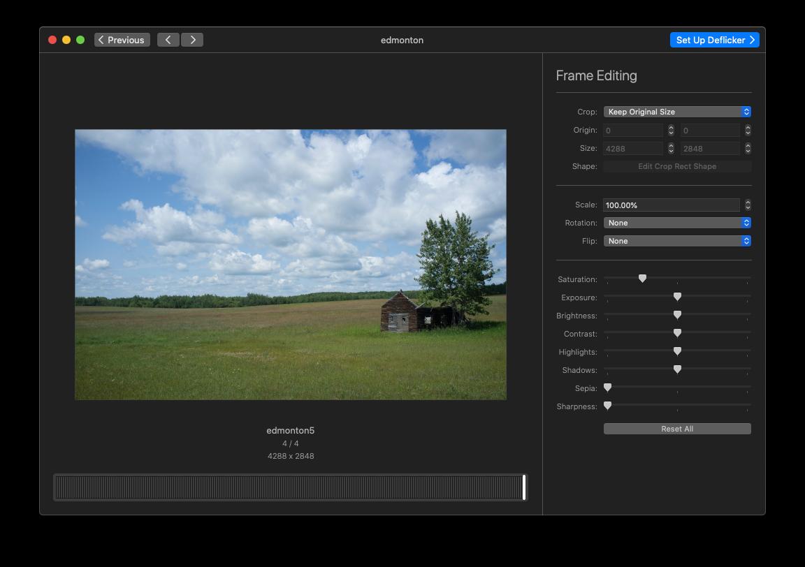 GlueMotion video timelapse editing Mac