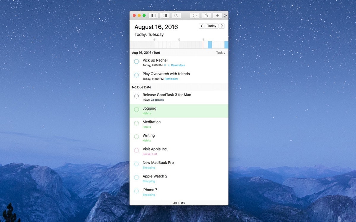 Manage all your tasks with GoodTask app