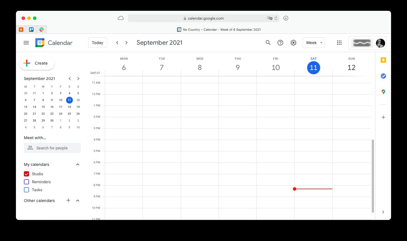 schedule a meeting with Google Calendar