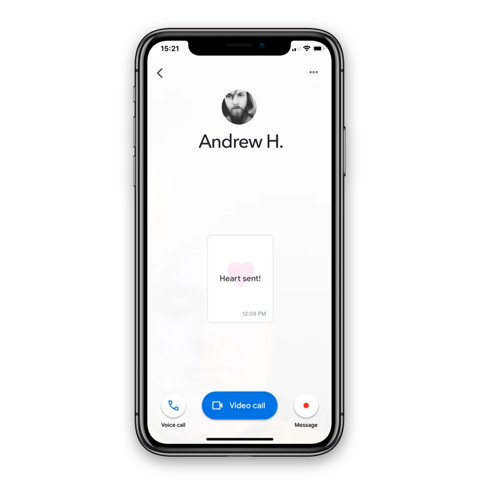 google-duo-message