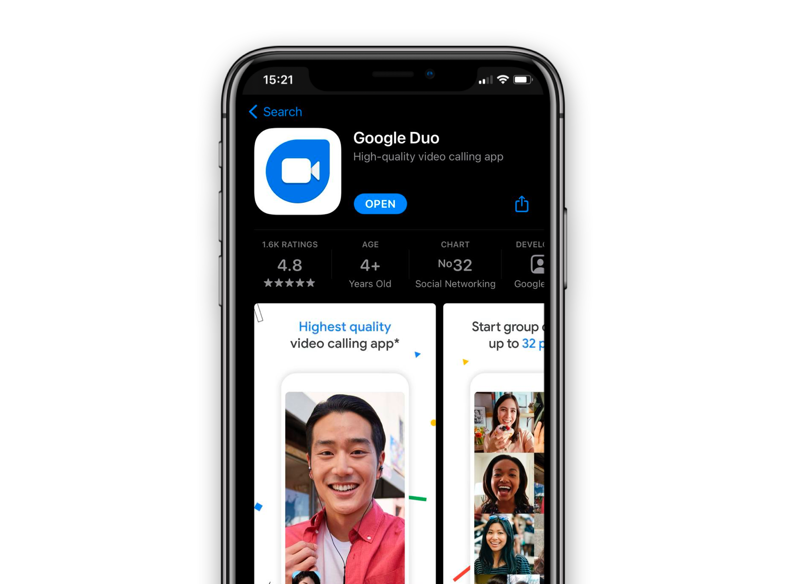 google-duo-on-iphone
