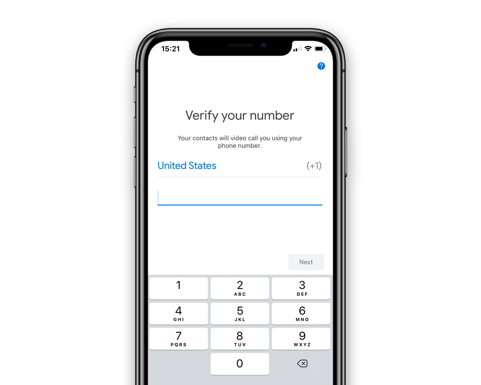 google-duo-verify-number