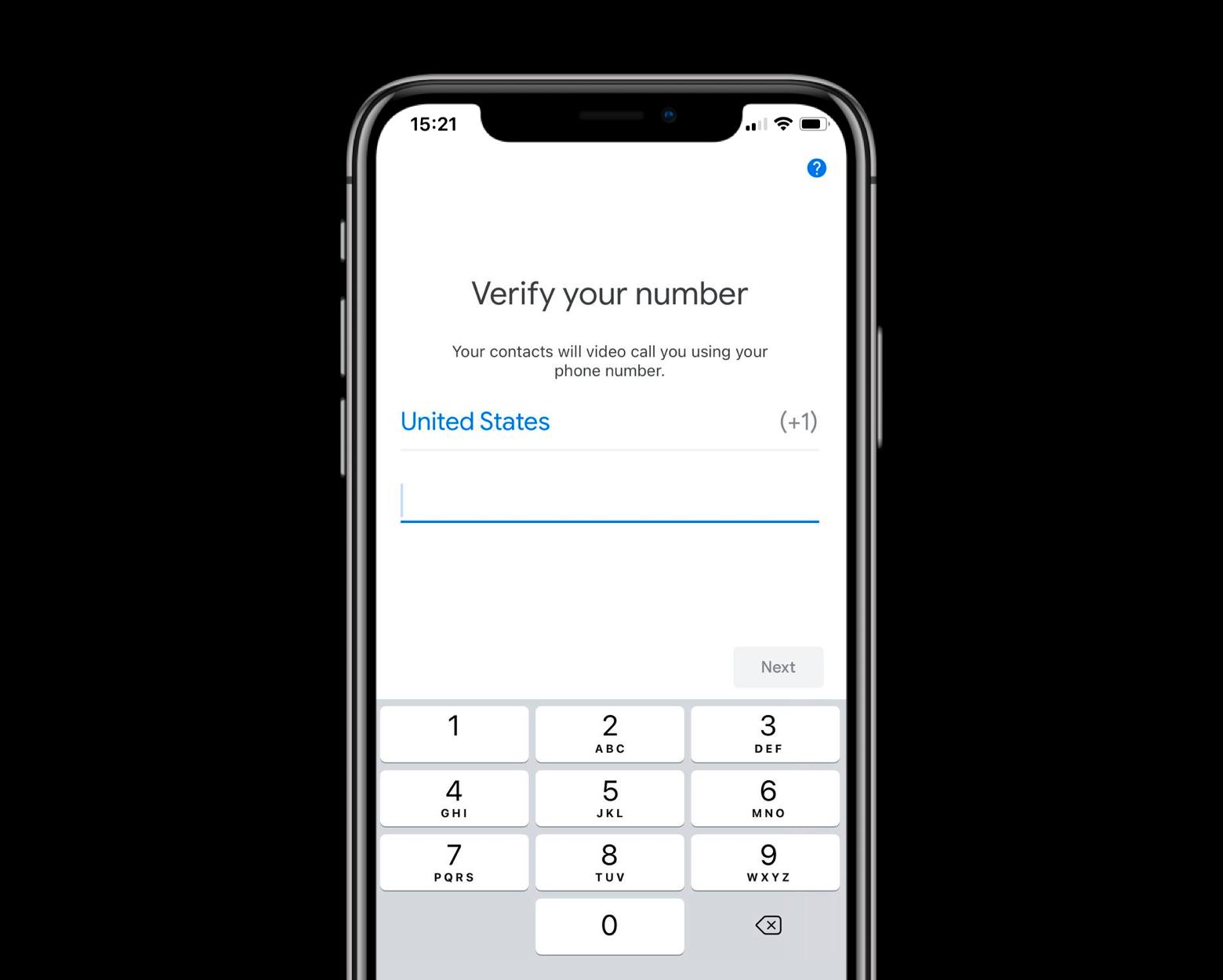 google-duo-verify-number