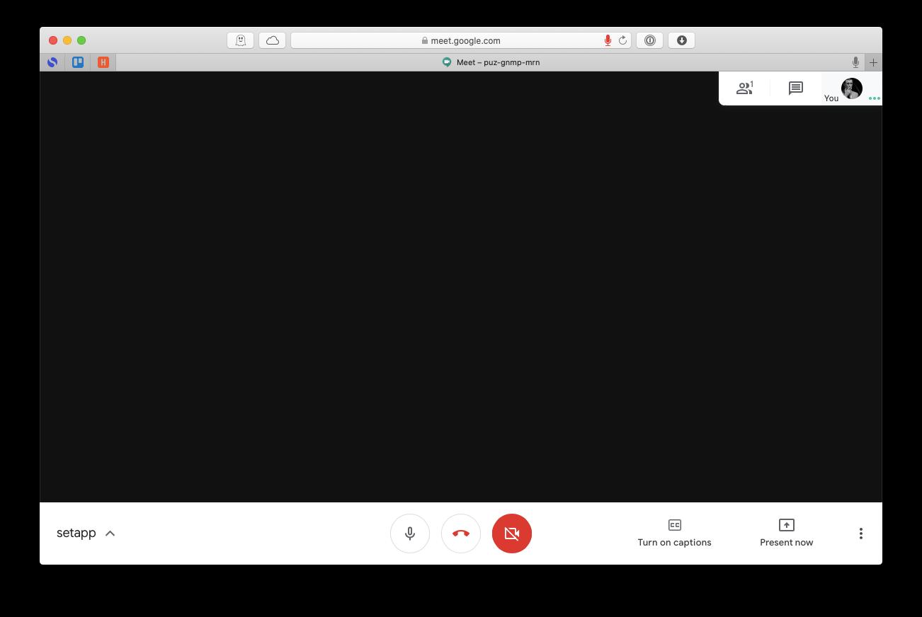 Google Meet record Mac