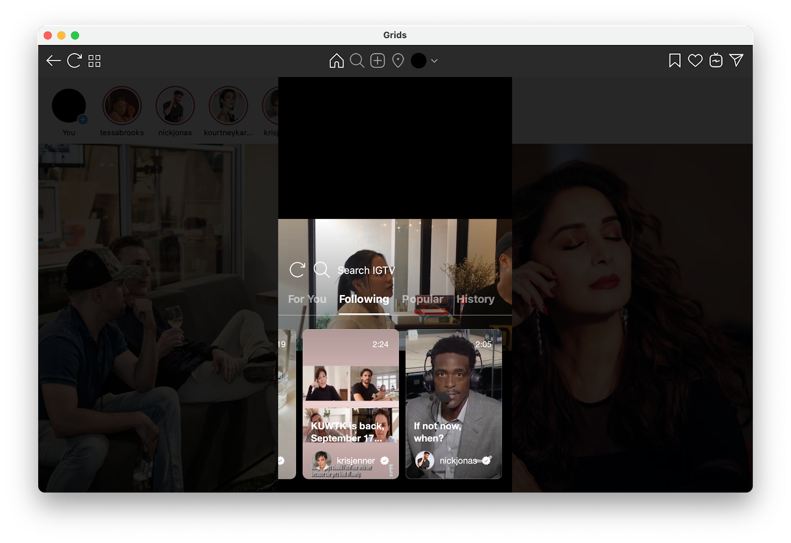 Instagram app for Mac