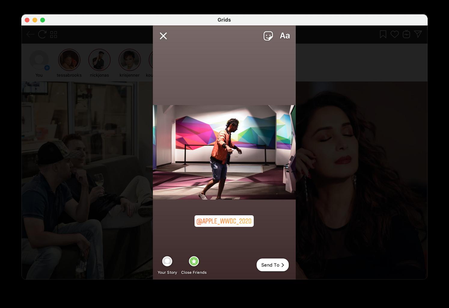 Post to Instagram from Mac desktop