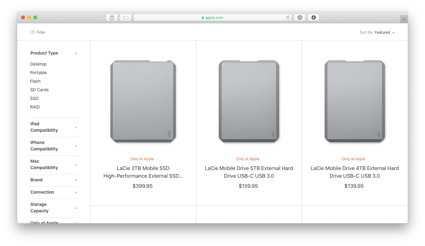 HDD SSD best hard drive for mac