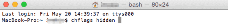hide files cmd