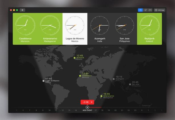World Clock Pro application