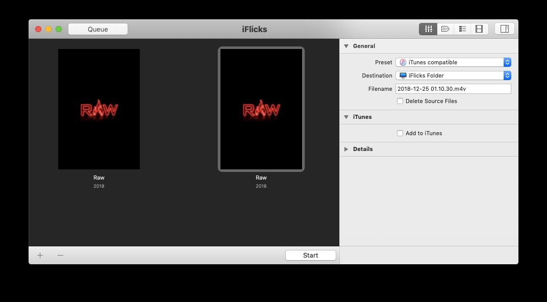 iFlicks iTunes video converter
