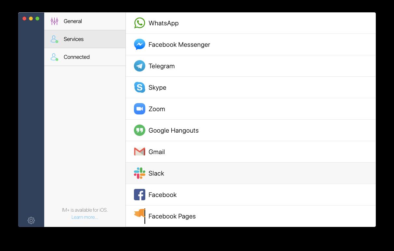 IM+ app messaging Mac