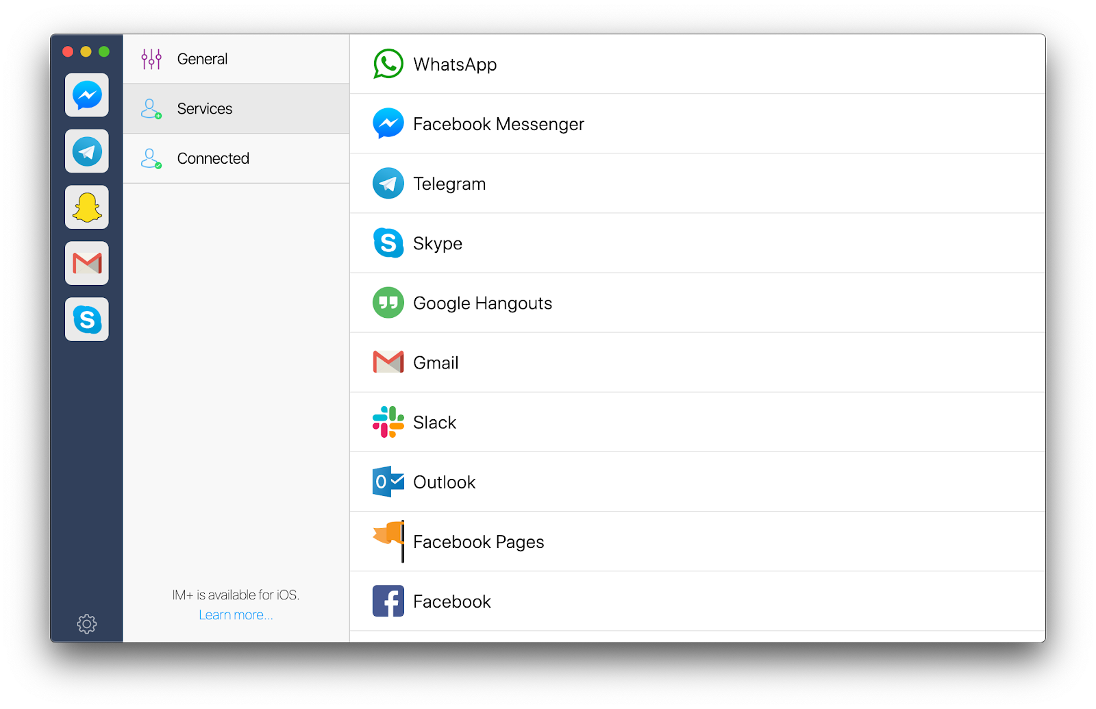 IM+ app Setapp