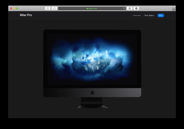 iMac Pro Apple Mac video editing