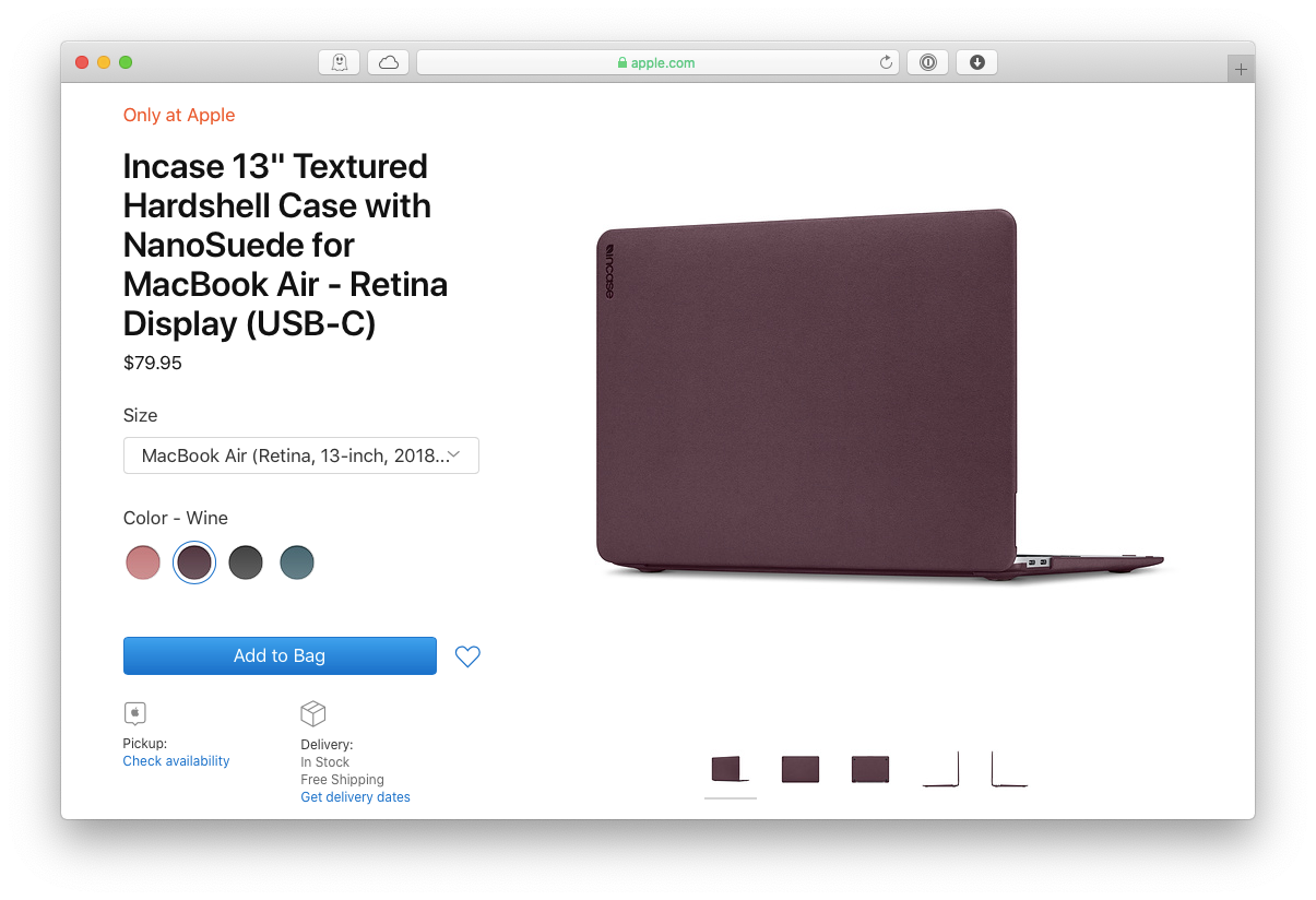 Incase Mac MacBook case