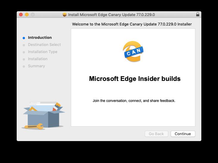 install microsoft edge beta mac