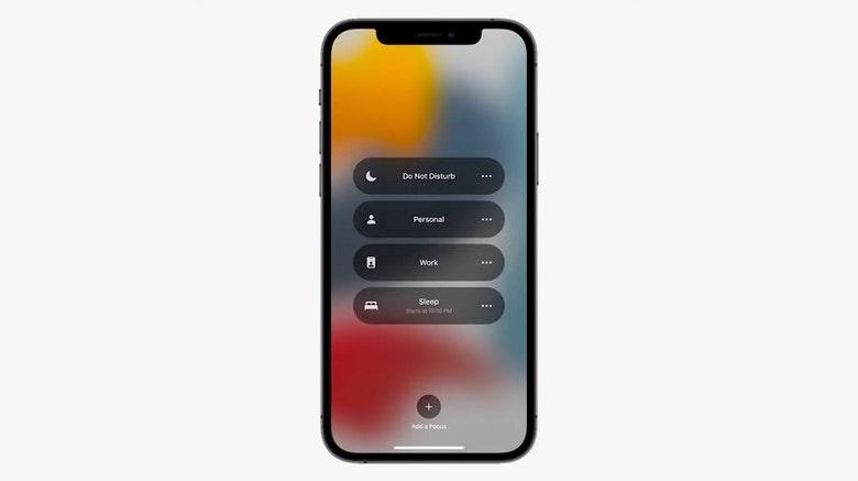 iOS 15 announcement