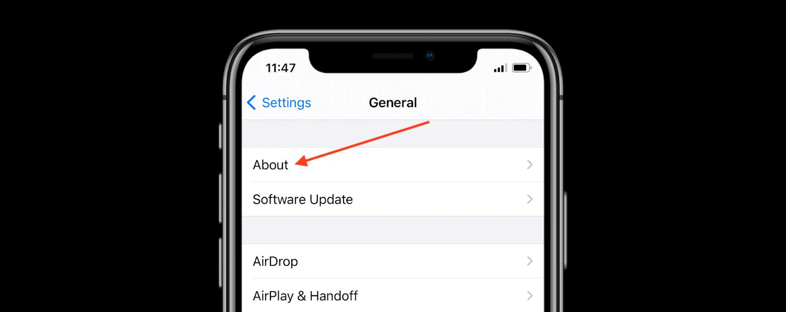 iphone menu renaming device