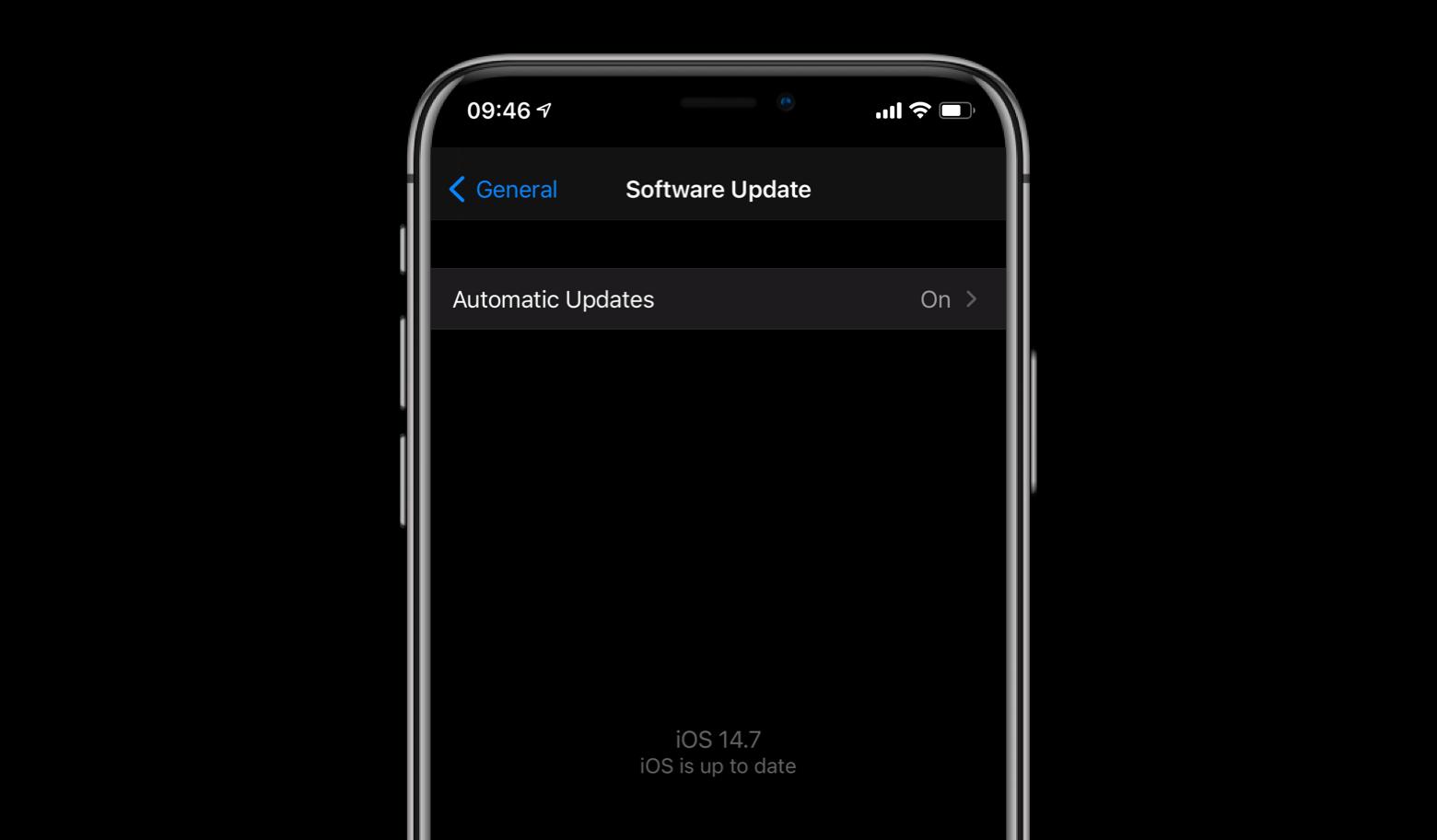 iPhone iOS update