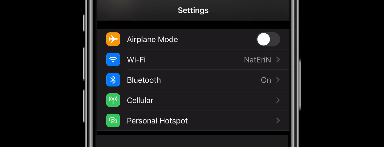 hotspot iphone