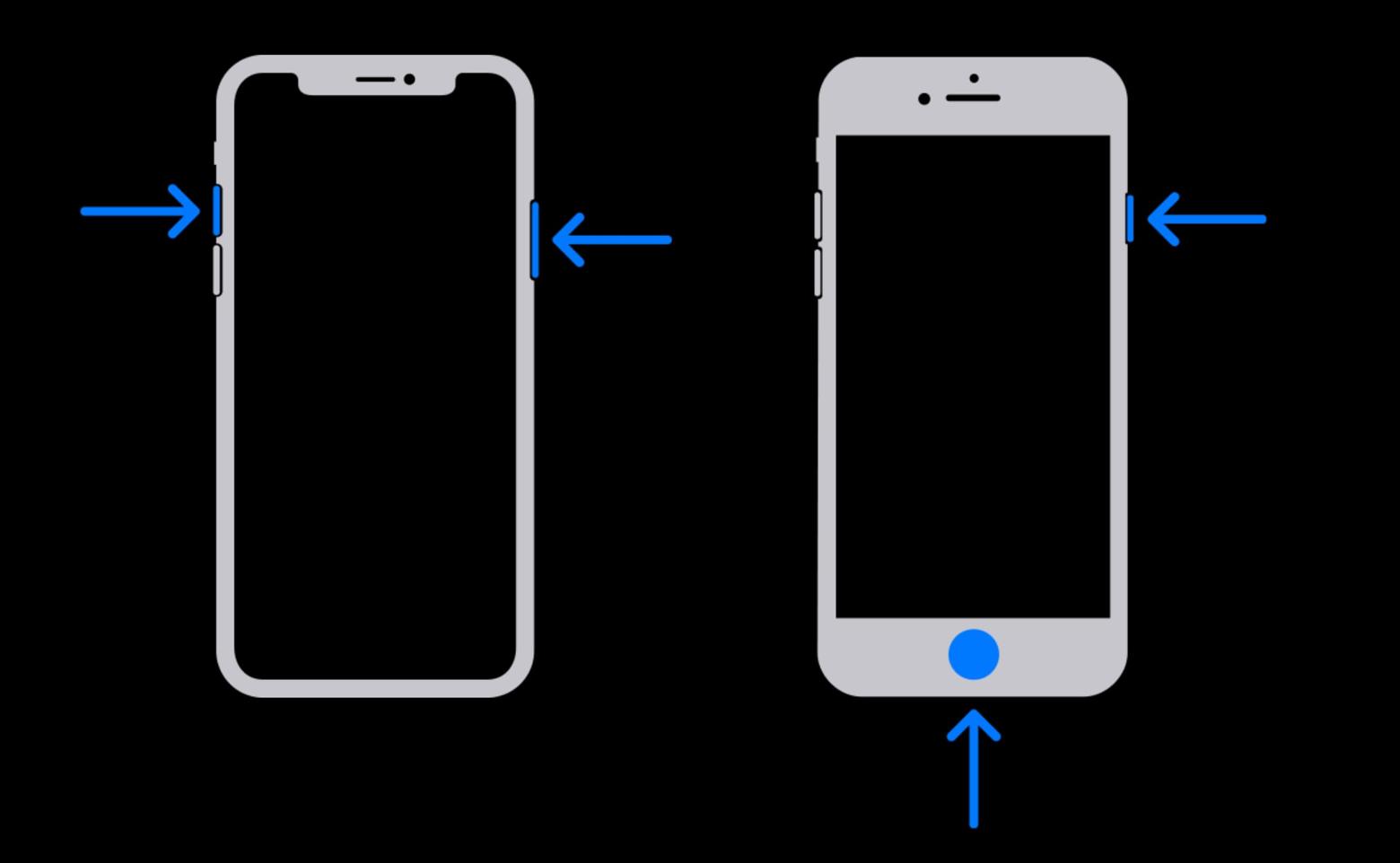 iphone screenshot text messages