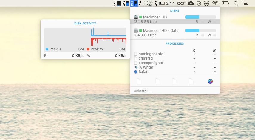 iStat Menus app monitor Mac
