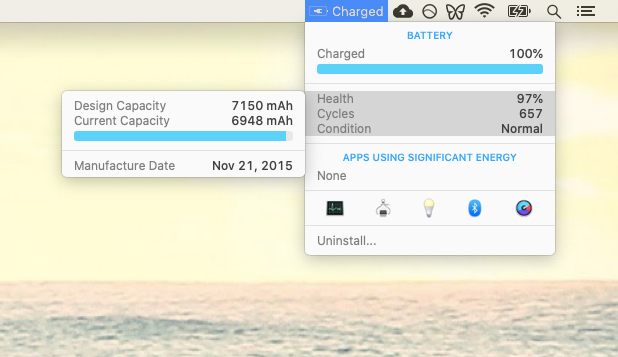 iStat Menus battery extend app Mac