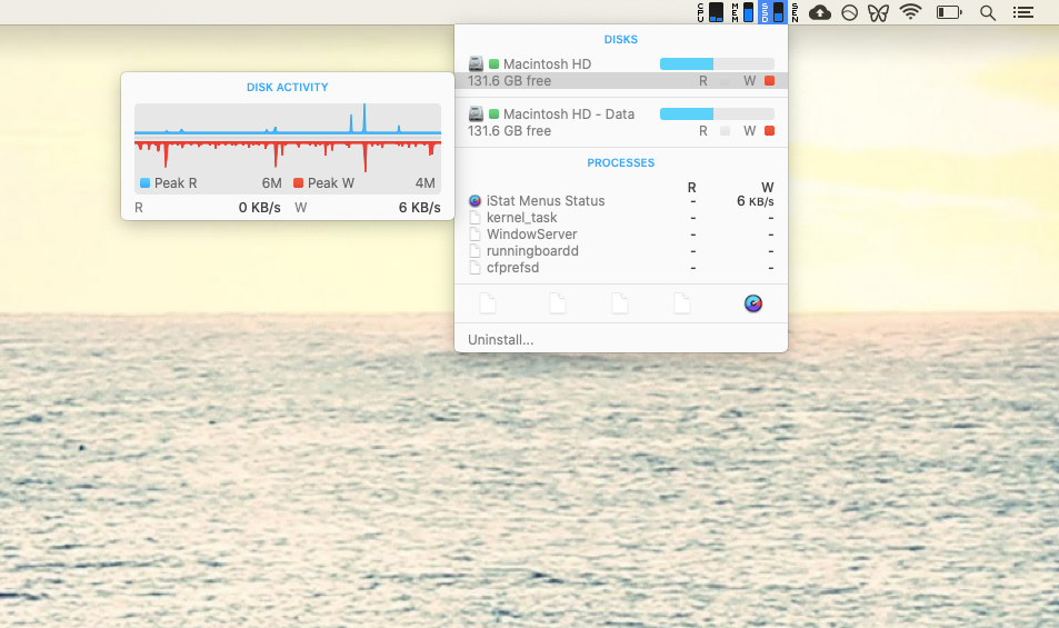 iStat Menus monitor activity Mac